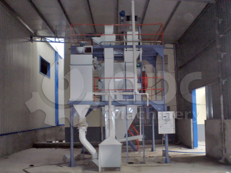 livestock feed mixing equipment included in the feed mill
