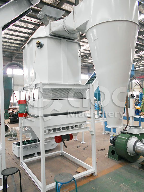 cooling machine for medium to large livestock feed pellets manufacturing company