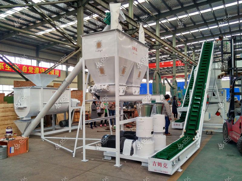 livestock feed production equipment for medium scale business plan