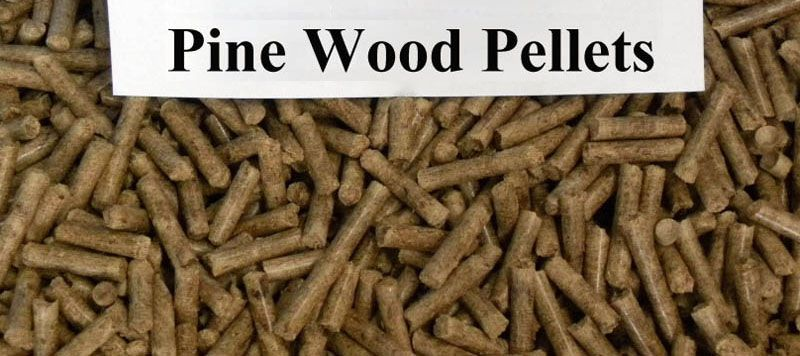 make pine wood pellets