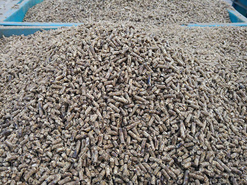 manufactured chicken feed pellets, low production cost