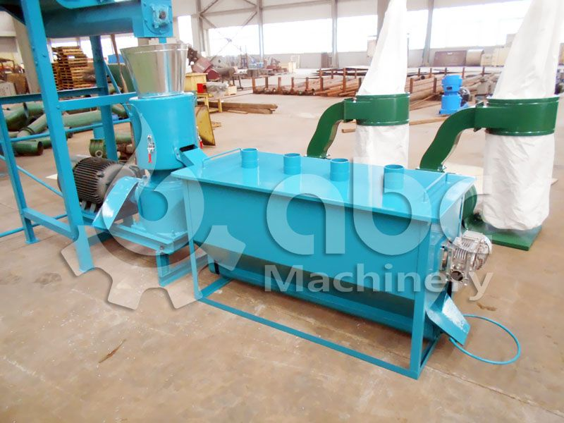 animal feed processing equipment for mini feed mill