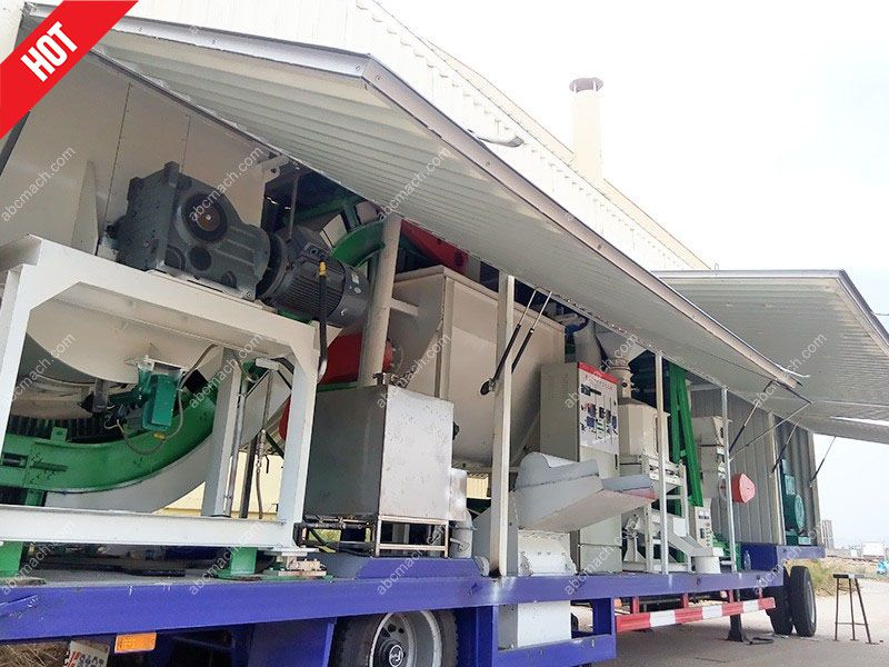mini movable cattle feed plant for small scale business