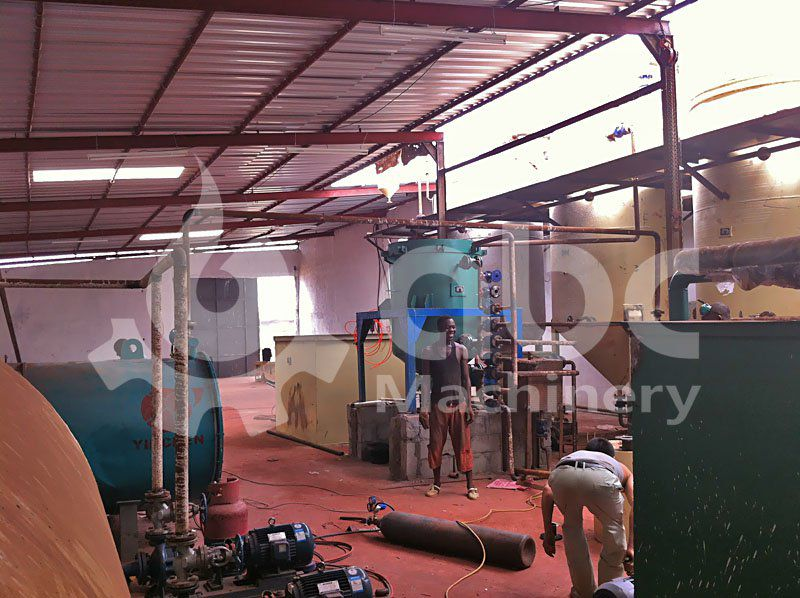 mini copra oil refinery equipment set