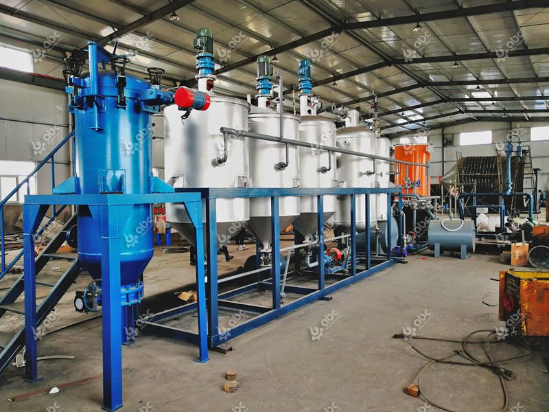 mini edible oil refining plant for sale at low price