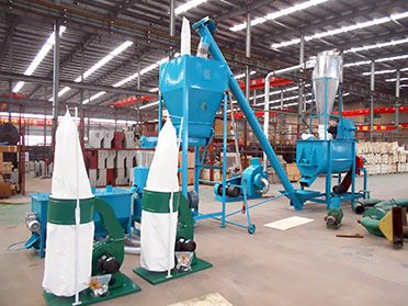 1 ton/h Mini Feed Mill Plant
