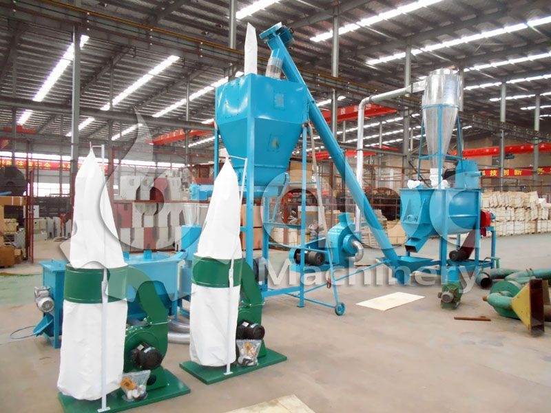 mini feed milll plant for 1 ton cattle feed manufacturing