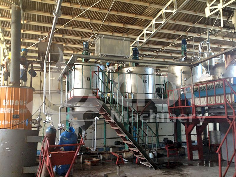mini fish oil refinery plant factory design
