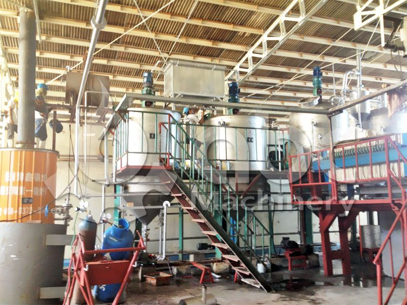 low cost mini fish oil refining machine