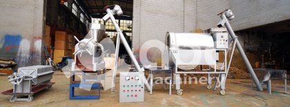 6TPD Palm Kernel Oil Expeller Machine Exported to Nigeria