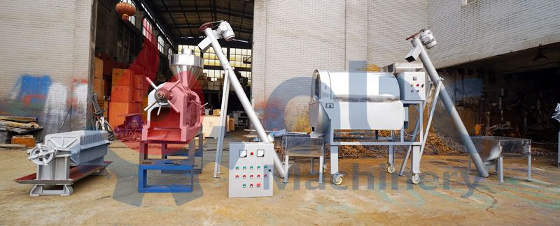 mini palm kernel oil extraction plant for small production on farm