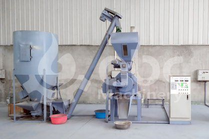 Recently Developed Mini Pellet Feed Plant