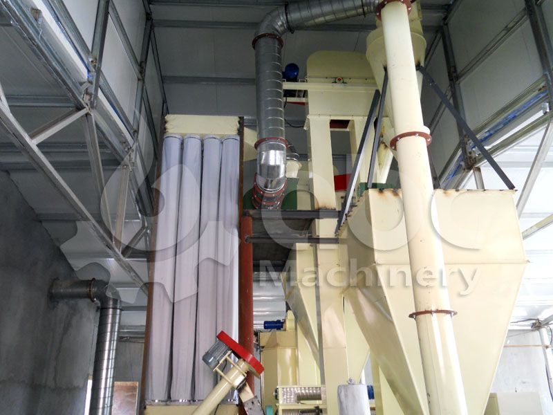 1-2ton/h mini poultry feed milling plant