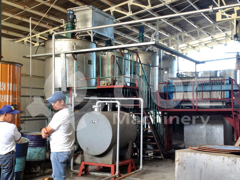 mini refinery for fish oil production