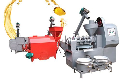 mini soybean oil processing unit