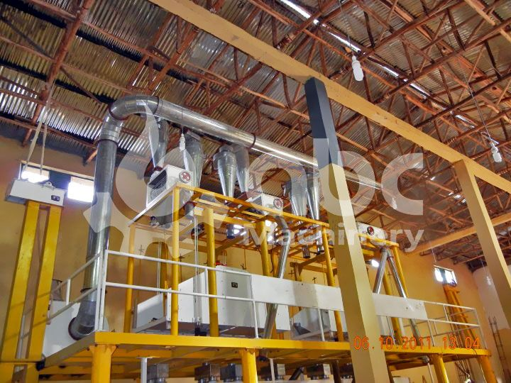 mini wheat flour milling plant