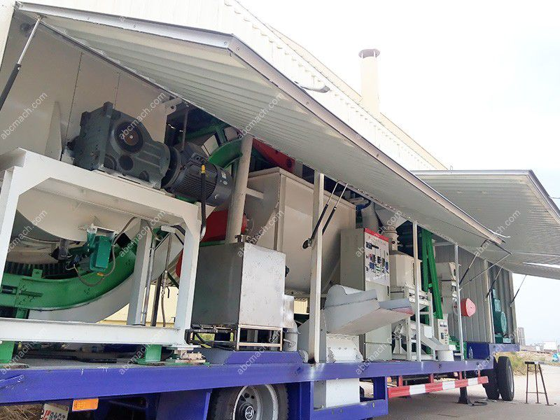 Mobile Cattle Feed Plant