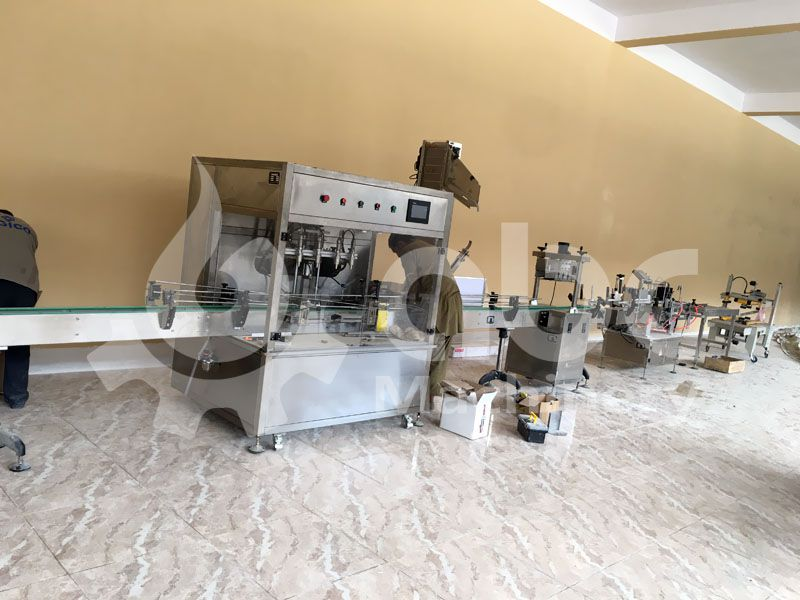 edible oil filling production equipment for sale