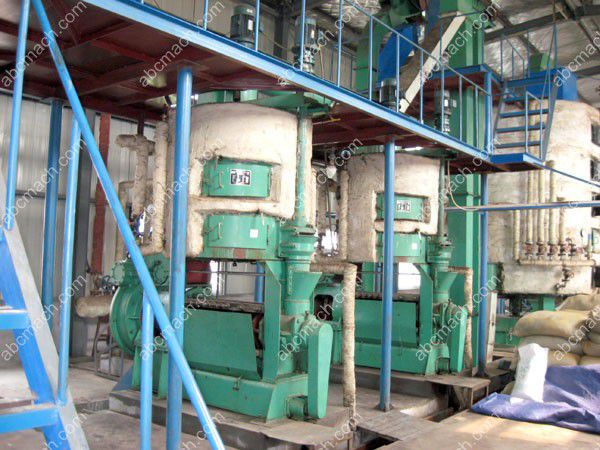 oil milling production line