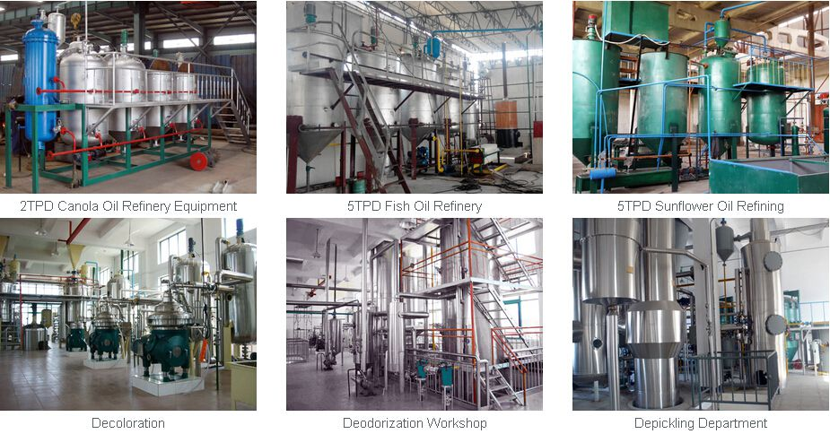 oil refining projects