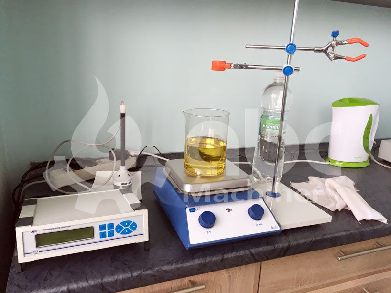refined oil test equipoment