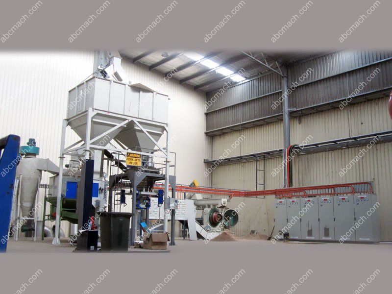 packing system of pellet plant
