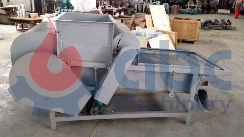 cleaning machine for small palm kernel oil processing line