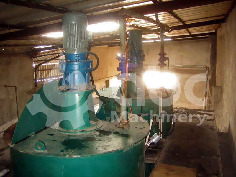 palm oil crystallizing tank