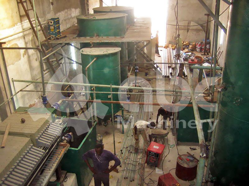 palm oil fractionation plant for small production