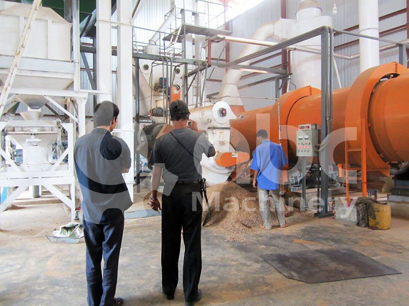 biomas pellet mill plant commissioning and operation