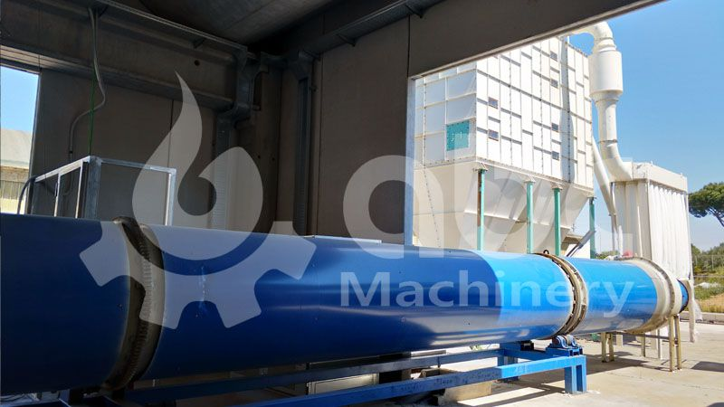 pellets manufacturing production drying process