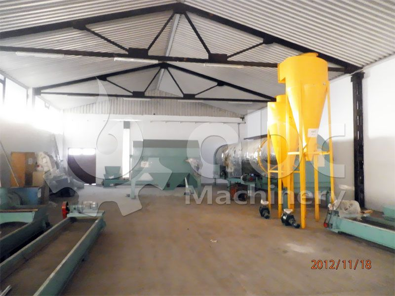 pellet plant preprocessing equipment