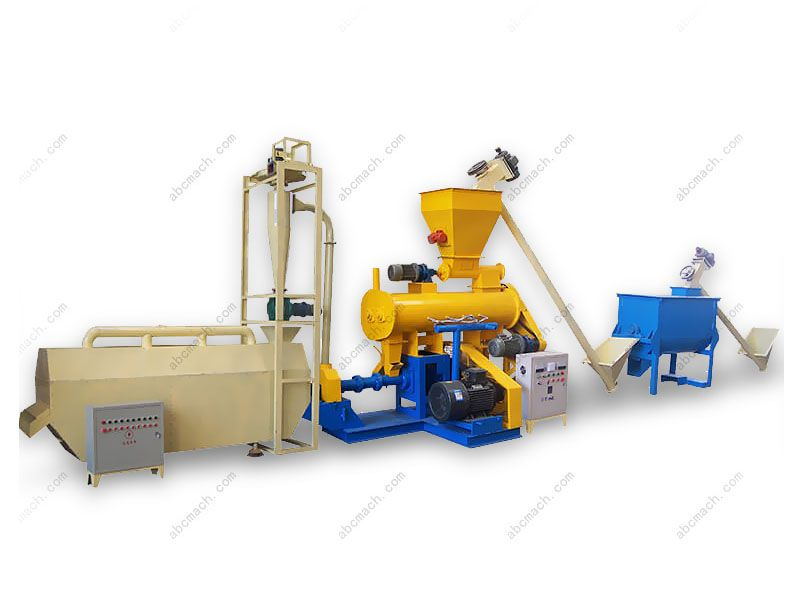 Wet Type Feed Extruder