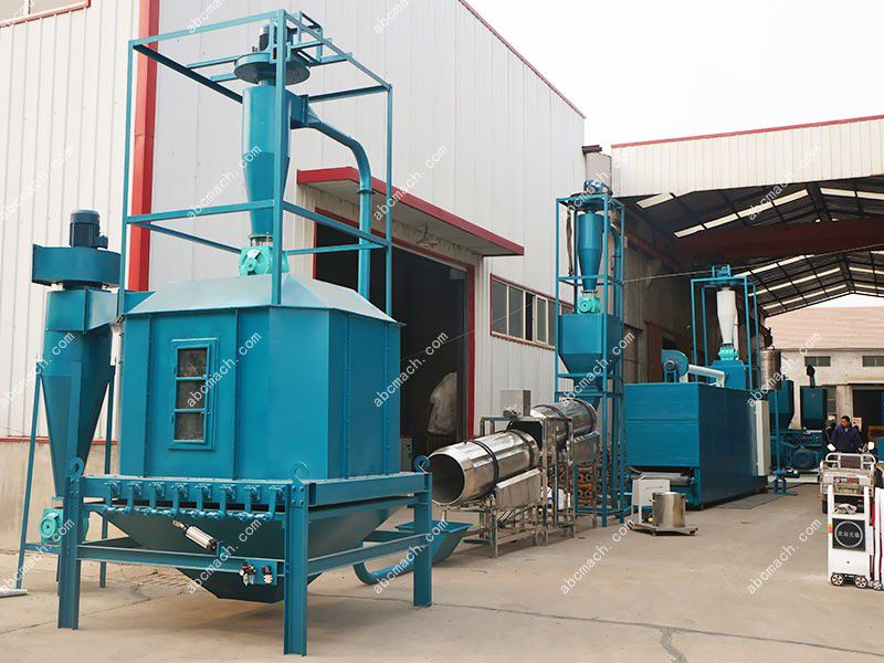 set up a pet food production plant for extruding animal feed