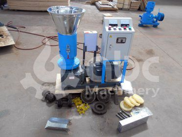 Small Pine Wood Pelletizer for Home Use Shipped to Armenia