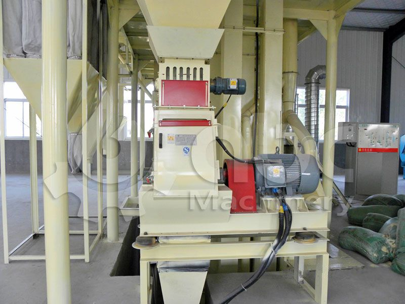 poultry feed crushing machine for small feed mill factory