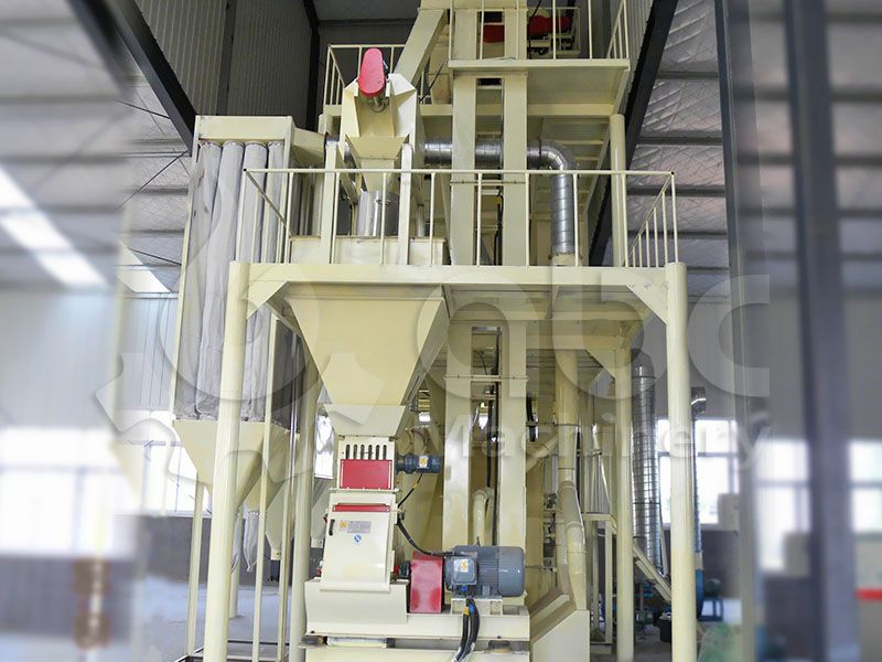 poultry feed crushing system for small scale feed prodcution