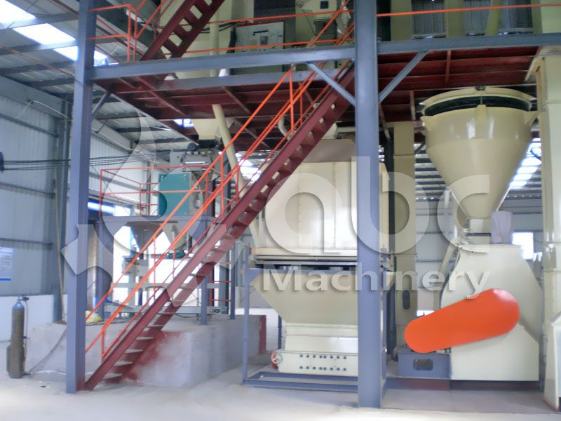 livestock and poultry feed pellets cooling and packing machine