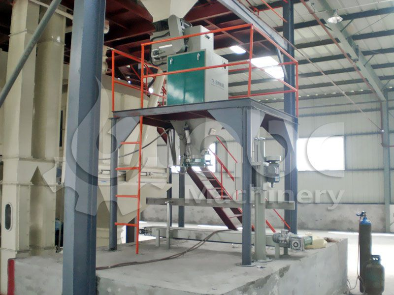 poultry feed packaging machine or bagging equipment