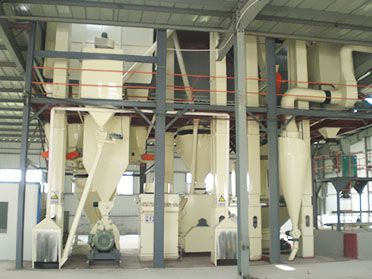 60,000 ton/year Poultry Feed Milling Machine Line