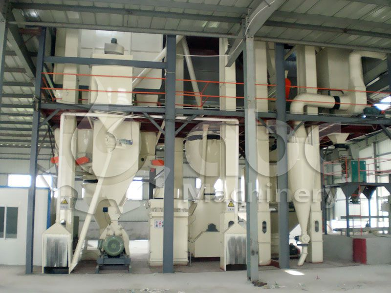 set up a poulry feed milling factory for industrial fodder production