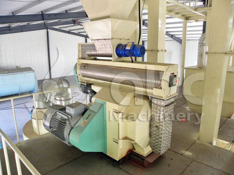 ring die type poultry feed pellet machine for sale