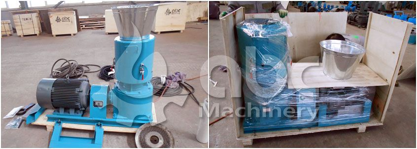 poultry feed pellet mill machine details before shippment