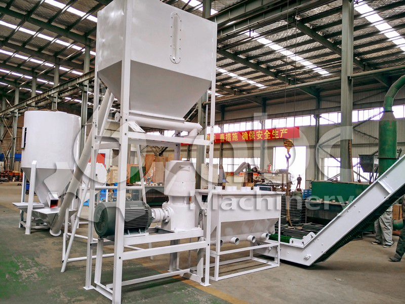 poultry feed processing equipment for complete production line