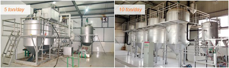 equipment for producing refined corn oil