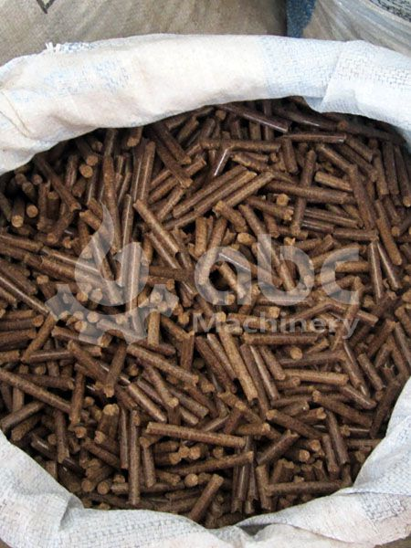 produce industrial scale biomass pellets