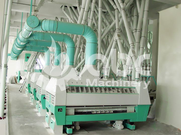 purifier of complete automatic wheat milling plant