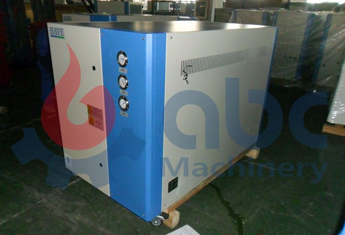 refrigerating unit for palm oil fractionation production line