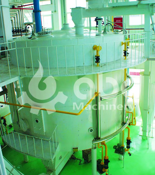solvent extraction of sesame oil