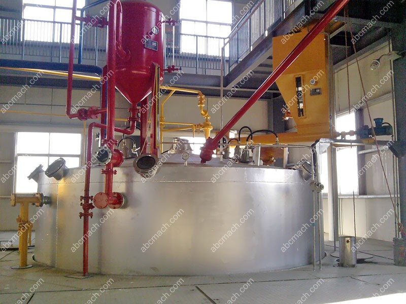 Rotorce vegetable oil extraction